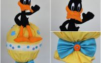 lumanare de botez Daffy Duck desene Looney Tunes