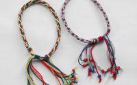 Bratara colorata 4- Friendship  kumihimo  bracelet