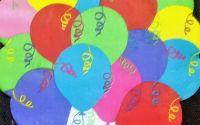 1457 Servetel decupat forma baloane