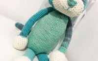 Alvin pisica crosetata handmade
