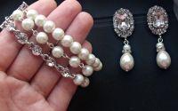 cercei deosebiti cristale perle bratara multisir