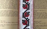 Semn de carte - broderie traditionala romaneasca