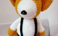 jucarie crosetata-vulpita FOX