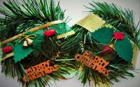 Ornament Craciun cu magnet bradut