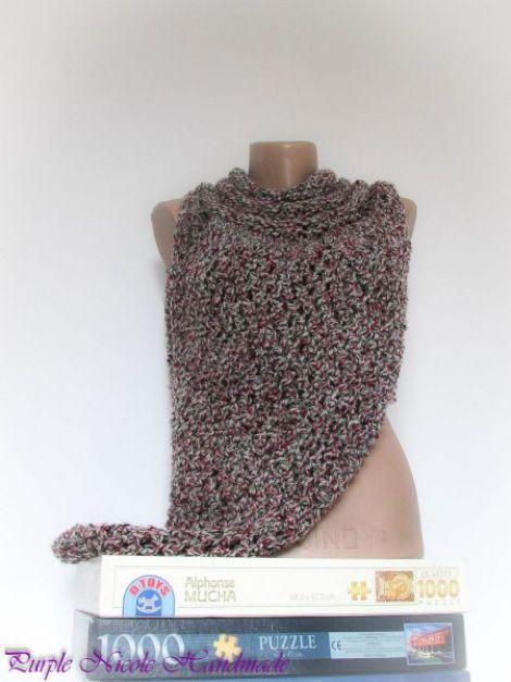 Razboinica - bluza  capa crosetata