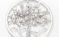 Pandantiv copacul vietii 61x56.5x1.5mm