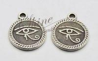 Charm Horus Eye 18x15x2mm