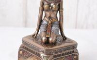 Caseta art nouveau cu Cleopatra