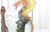Sfesnic din ceramica cu un dragon