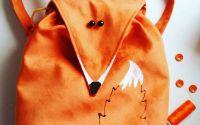 Rucsac Vulpita portocalie