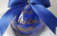 "Glob personalizat ""First Christmas together"""