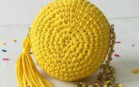 Geanta rotunda handmade