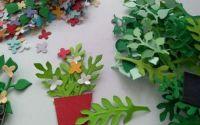 Ghivece u flori