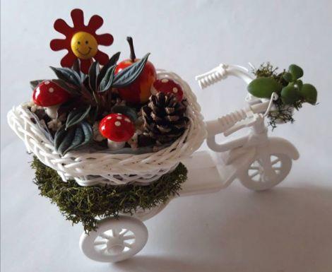 Decoratiune Bicicleta vesela