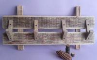 Cuier unicat din lemn masiv