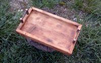 Tavita de servire din lemn masiv