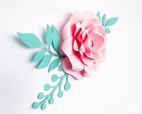 Floare din hartie