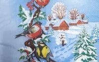 1518 Servetel peisaj de iarna 1