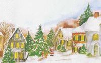 1523 Servetel peisaj de iarna 3