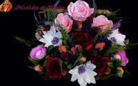 Aranjament din Flori de Hrtie