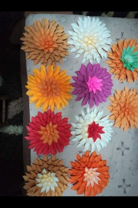 Flori din hartie
