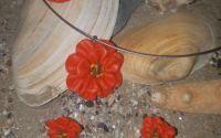 Set Floare portocaliu