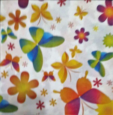 1549 Servetel fluturi multicolori