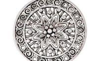 Pandantiv argintiu antic 61x58x4mm