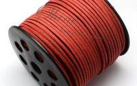 nur Suede Fire Brick 3.0x1.4mm