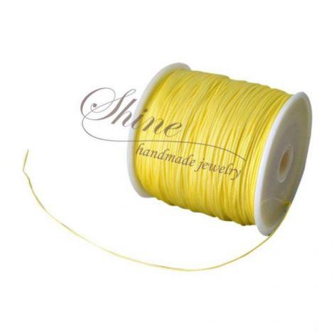 Snur nailon Champagne Yellow 0.8mm