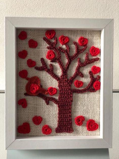 Copacul cu inimioare