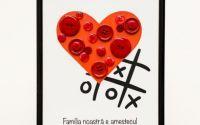 Tablou mesaj familie dragoste cadou decoratiune