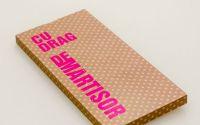 Cutie ciocolata personalizata cu mesaj de martisor
