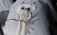 Owl wall hanging.