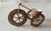 Tricicleta din cafea si sfoara