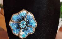 Brosa Blue Flower