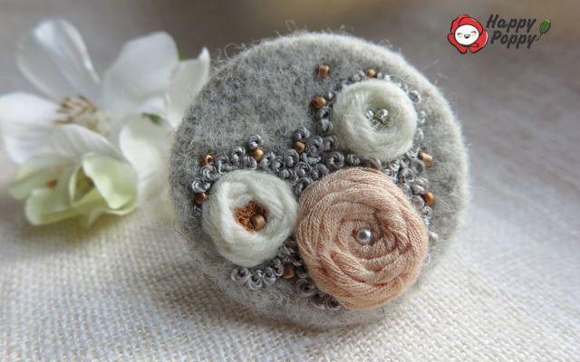 Brosa impaslita - Roses