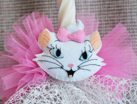 lumnare botez tema Pisica Marie