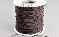 Snur elastic Coconut Brown 1mm