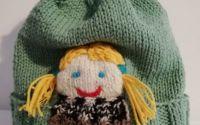 Caciula tricotata pentru copii