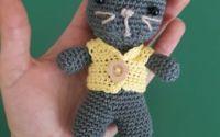 Jucarie Pisica cu pulovaras
