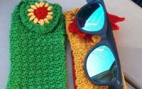 Suport ochelari de soare - Vara inflorata
