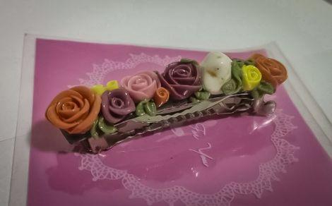 Accesoriu Par Floral Multicolor