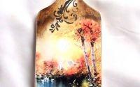 tablou pe lemn