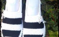 Pantofi crosetati