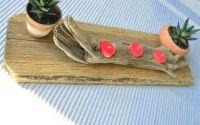 Suport de lumanari Driftwood