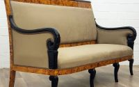 Sofa Art Deco din lemn masiv furniruit