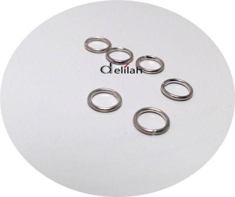 Zale argintii 8mm-0.7mm