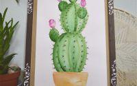 Acuarela Cactus