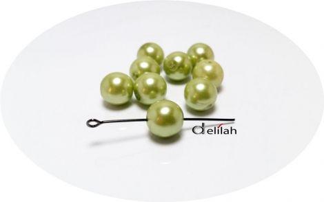 MargelePerle acrilice verzi verde praz PE014